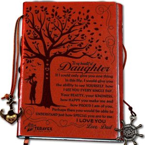 Dad to Daughter Writing Journal Sentimental Gift
