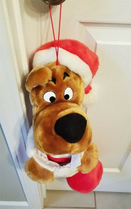 Scooby Christmas Stocking